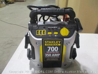 Stanley Fatmax 700/ 350 Amp Jump Starter w/ 120 PSI Compressor (missing 12V wall charger)