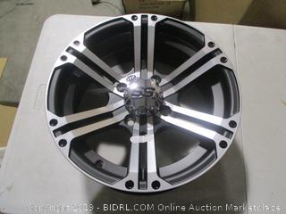 TP SS212 14x6 Wheel with 4 on 110 Bolt Pattern (Machined)