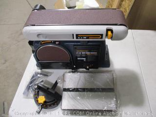 """PowerTec 4""""X6"""" Belt Disc Sander"""