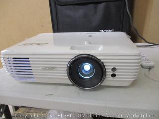 Acer H7850 4K Ultra High Definition (3840 x 2160) DLP Home Theater Projector ($1999 Retail) Powers On