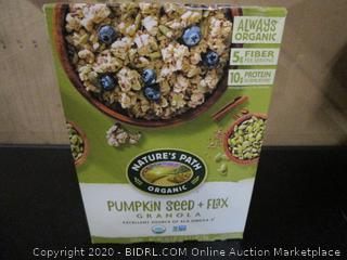 Natures Path Organic Pumpkin Seed + Flax