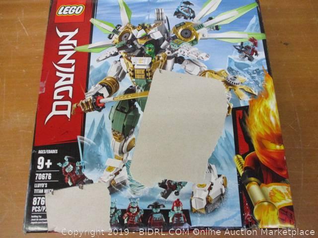 Lego Ninjago Lloyd S Titan Mech 70676 Building Kit Auction Bidrl Com Online Auction Marketplace