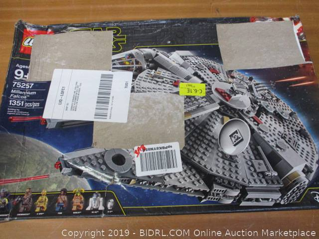 Lego Star Wars The Rise Of Skywalker Millennium Falcon 75257 Starship Model Building Kit Auction Bidrl Com Online Auction Marketplace
