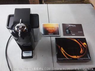 NEW - Nespresso Vertuo Evoluo Coffee and Espresso Machine (powers on)