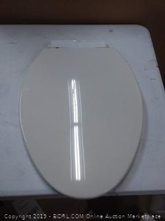Kohler elongated toilet seat (broken back piece)