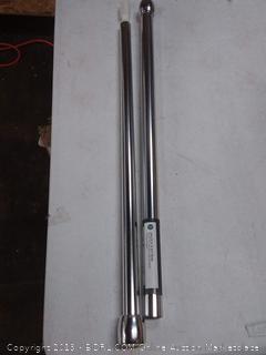 Chrome curtain rod 4 feet