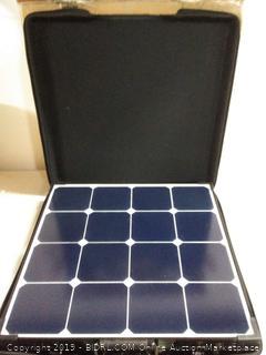 Renogy 100 Watt Eclipse Monocrystalline Charge 20A Voyager Solar Suitcase, 100W-Waterproof (online $294) no controller