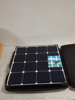 Renogy 100 Watt Eclipse Monocrystalline Charge 20A Voyager Waterproof Controller Solar Suitcase, 100W-Waterproof (online $294)