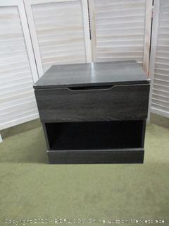 End Table with Drawer. Damaged corners. See pics.