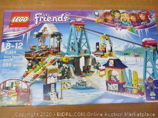 LEGO Friends 41324 Snow Resort Ski Lift Building Set