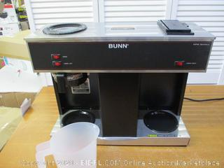 BUNN 04275.0031 VPS 12-Cup Pourover Commercial Coffee Brewer, with 3 Warmers (Retail $400)