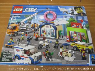 LEGO City Donut Shop Opening 60233 Store Opening