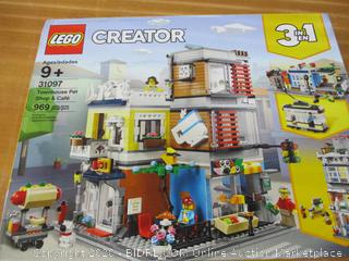 LEGO Creator 3-in-1 Townhouse Pet Shop & Café 31097 Toy Store Building Set
