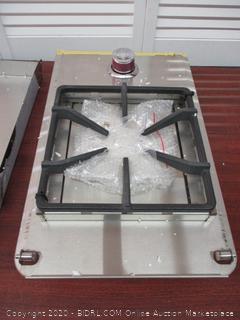 Cal Flame BBQ08852P Standard Single Flat Side Burner 15,000 BTU 11 in, 304 Durable, Stainless Steel