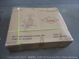 Belt Drive Indoor Cycling Bike (Some Boxes May Be Damaged)