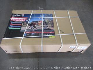 "Spalding 54"" Acrylic Portable Backboard (Box Damage)"