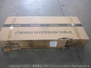 Inversion Table (Box Damage)