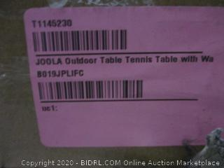 Outdoor Table Tennis Table (Box Damaged) (Please Preview)
