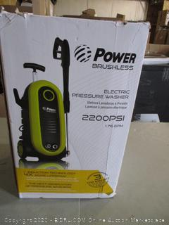 Power Brushless Electric Pressure Washer (Box Damage)
