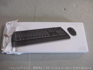 Microsoft Wireless 30250 Desktop Keyboard (Box Damage) (Missing Parts) (Please Preview)
