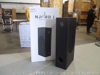 Njord 1 Subwoofer Soundbar System