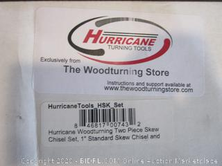 Hurricane Woodturning Two Piece Skew Chisel Set