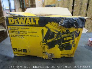 DeWalt Workshop Bench Vise (Box Damage)
