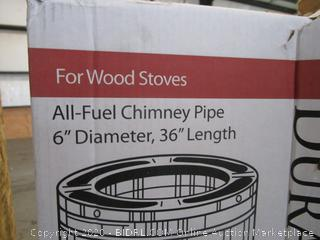All-Fuel Chimney Pipe for Wood Stoves (Please Preview)