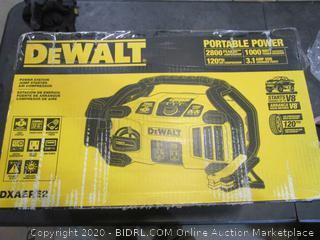 DeWalt Power Station Jump Starter Air Compressor