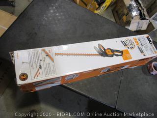 WORX Cordless Hedge Trimmer (Box Damaged)