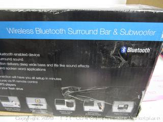 Wireless Bluetooth Surround Bar & Subwoofer See Pictures