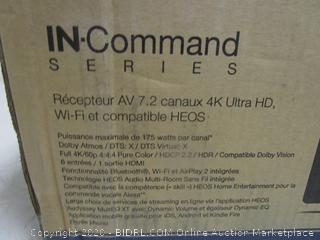 IN Command Series Integrated Network AV receiver