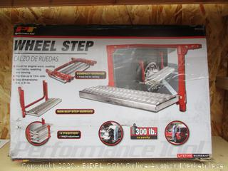 Wheel Step See Pictures