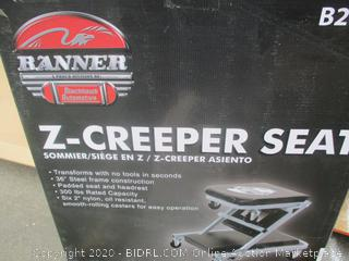 Z Creeper Seat