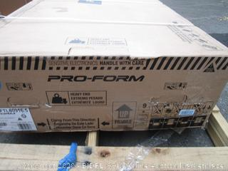 Pro Form Treadmill See Pictures