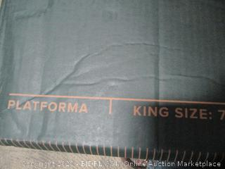 "Zinus Platforma 18"" Mattress foundation  King"