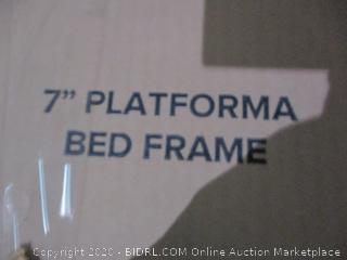"""7"""" Platforma Bed Frame queen"""