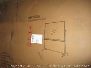 72x40 Mobile Whiteboard