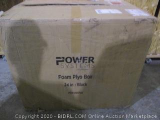 Power System Foam Plyo Box 24 in Black
