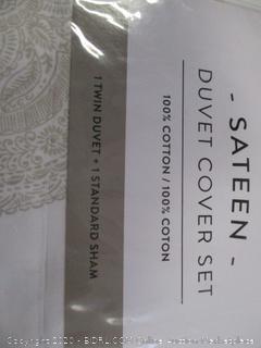 Twin Duvet Cover Set