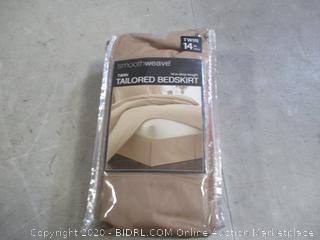 Twin Tailored Bedskirt