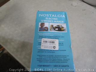 Nostalgia Electric S'Mores Maker