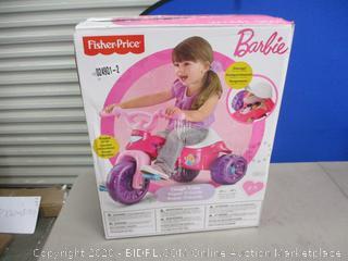 Fisher Price Barbie Tough Trike