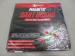 Magnetic Dart Board Factory Sealed