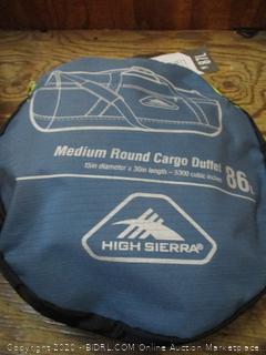 Medium Round Cargo Duffel