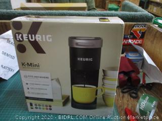 Kerig Coffee maker factory Sealed