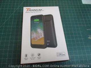 Trianium Battery Case for iPhone X