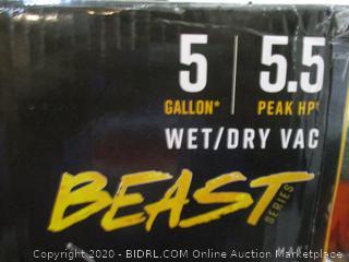 Vacmaster Professional Beast Wet/Dry Vac