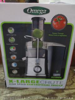 Omega X-Large Chute High Speed Centrifugal Juicer