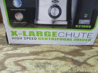 Omega X-Large Chute High Speed Centrifugal Juicer